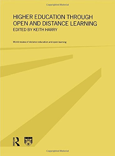 Higher Education Through Open and Distance Learning (World Review of Distance Education and Open ...