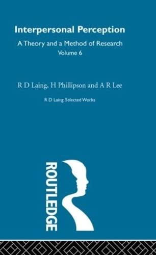 Sel Wks Rd Laing:Intpr Perc V6 (Selected: Laing, R. D.,