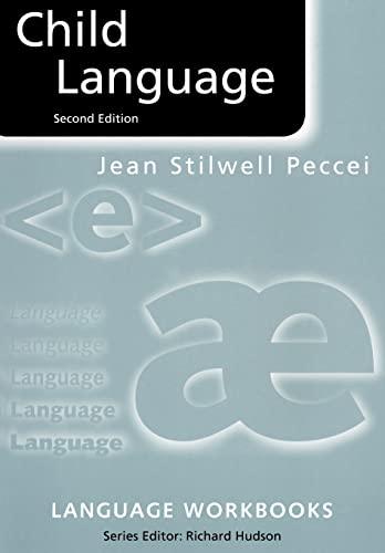 9780415198363: Child Language (Language Workbooks)