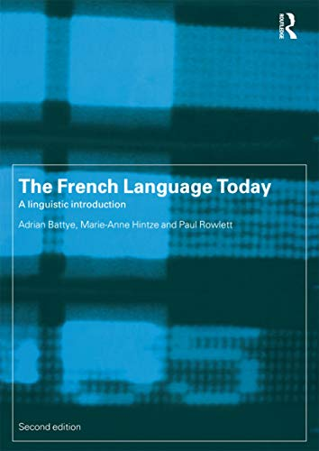 9780415198387: The French Language Today: A Linguistic Introduction