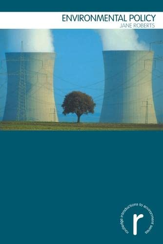 9780415198868: Environmental Policy (Routledge Introductions to Environment: Environment and Society Texts)