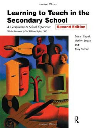 9780415199377: Learning to Teach in the Secondary School (Learning to Teach Subjects in the Secondary School Series)