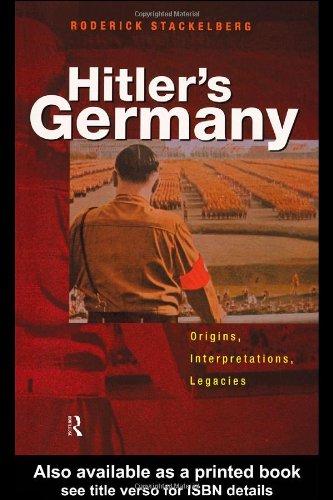 9780415201155: Hitler's Germany: Origins, Interpretations, Legacies
