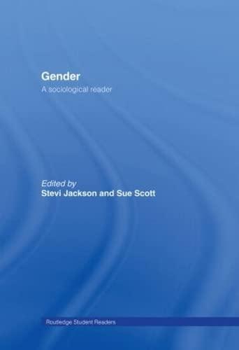 9780415201797: Gender: A Sociological Reader (Routledge Student Readers)