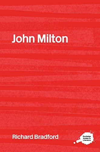 9780415202435: John Milton (Routledge Guides to Literature)