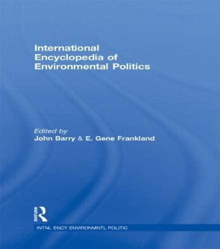 9780415202855: International Encyclopedia of Environmental Politics