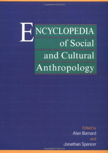 9780415203180: Encyclopedia of Social and Cultural Anthropology