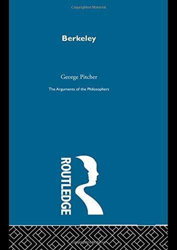 Berkeley-Arg Philosophers (Hardback): George Pitcher