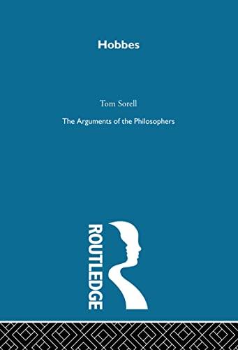 9780415203586: Hobbes-Arg Philosophers (Arguments of the Philosophers) (Volume 12)
