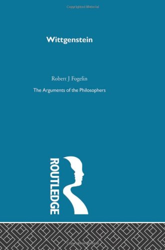 9780415203784: Wittgenstein-Arg Philosophers (Arguments of the Philosophers) (Volume 37)