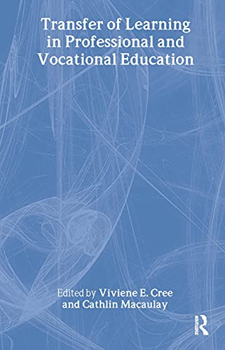 9780415204187: Transfer of Learning in Professional and Vocational Education: Handbook for Social Work Trainers