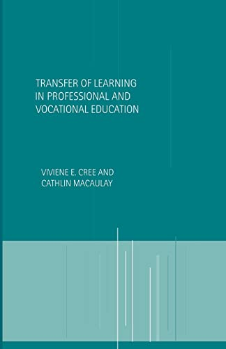 9780415204194: Transfer of Learning in Professional and Vocational Education: Handbook for Social Work Trainers