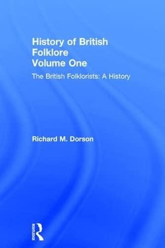 9780415204767: Hist British Folklore      V 1 (History of British Folklore S)