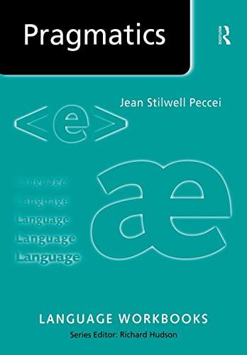 9780415205238: Pragmatics (Language Workbooks)