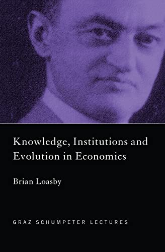 9780415205375: Knowledge, Institutions and Evolution in Economics (The Graz Schumpeter Lectures)