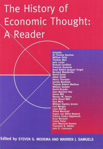 9780415205511: The History of Economic Thought: A Reader
