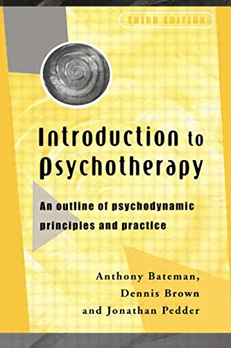 9780415205689: Introduction to Psychotherapy: An Outline of Psychodynamic Principles and Practice