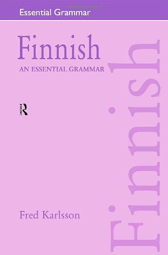 9780415207058: Finnish: An Essential Grammar (Routledge Essential Grammars)