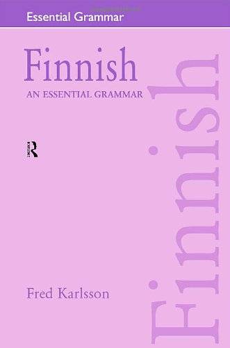 9780415207058: Finnish: An Essential Grammar