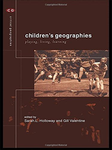 9780415207294: Children's Geographies: Playing, Living, Learning (Critical Geographies)