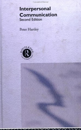 9780415207935: Interpersonal Communication: 2nd Edition