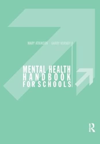 9780415208291: Mental Health Handbook for Schools