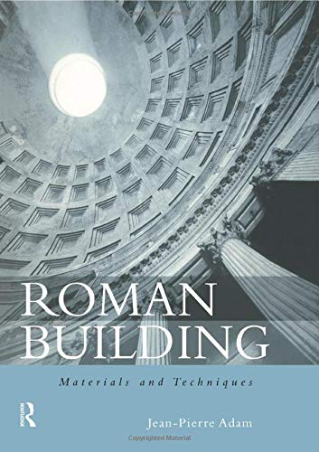 9780415208666: Roman Building: Materials and Techniques