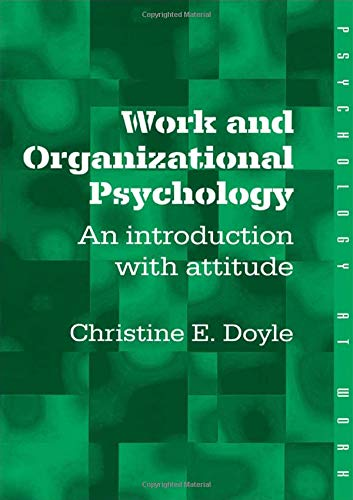 9780415208727: Work and Organizational Psychology: An Introduction with Attitude (Psychology at Work)
