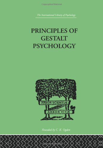 9780415209625: Principles Of Gestalt Psychology (International Library of Psychology) (Volume 149)