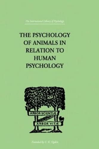 9780415209779: Psychol Animals Ilpsy 59 (Volume 159)