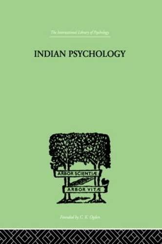 9780415211130: Indian Psychology Perception (International Library of Psychology) (Volume 72)