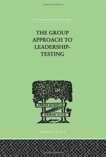 The Group Approach to Leadership-Testing: Harris, Henry