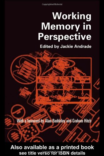 9780415211987: Working Memory in Perspective