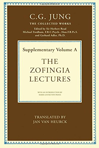 9780415213318: Collected Works of C.G. Jung: The Zofingia Lectures: Supplementary Volume A
