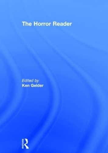 9780415213554: The Horror Reader