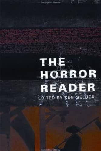9780415213561: The Horror Reader