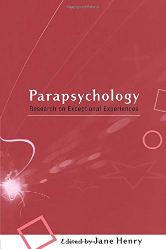 9780415213608: Parapsychology: Research on Exceptional Experiences