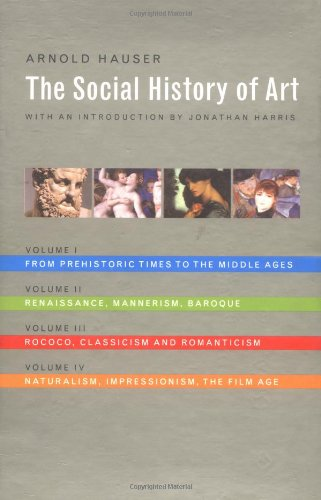 9780415213868: The Social History of Art (4 Volume Set)