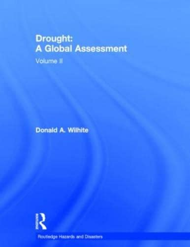 DROUGHTS - WILHITE V2 (Routledge Hazards and Disasters Series): Wilhite,Donald