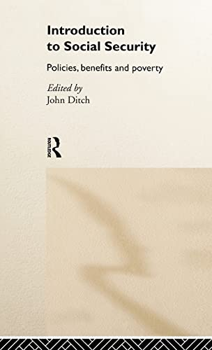 9780415214308: Introduction to Social Security: Policies, Benefits and Poverty