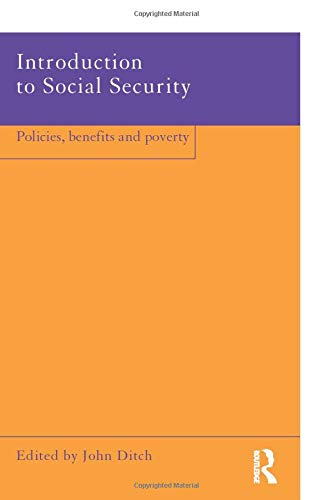 9780415214315: Introduction to Social Security: Policies, Benefits and Poverty