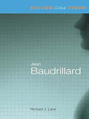 9780415215152: Jean Baudrillard (Routledge Critical Thinkers)