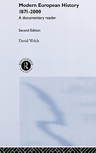 9780415215817: Modern European History 1871-2000: A Documentary Reader