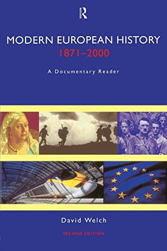 9780415215824: Modern European History, 1871-2000: A Documentary Reader