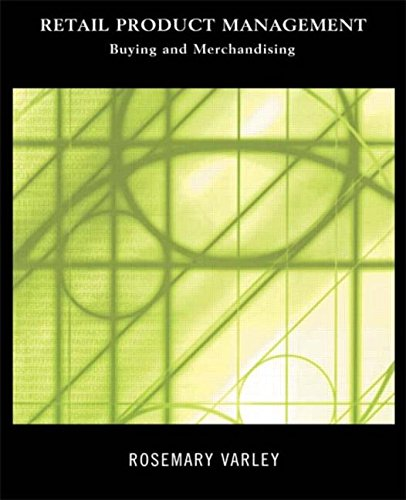 9780415216067: Retail Product Management: Buying and Merchandising