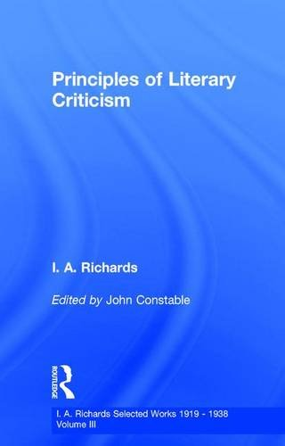 9780415217347: Princ Literary Criticism V3 (Selections) (Volume 10)