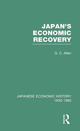 9780415218160: Japans Econ Recovery V 1 (Japanese Economic History, 1930-1960, V 1) (Volume 7)