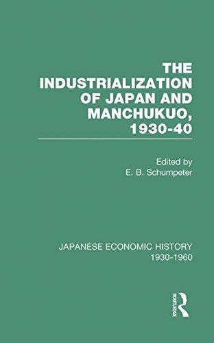 9780415218238: Indust Japan&Manchukuo V 8 (Japanese Economic History, 1930-1960, V. 8) (Volume 3)