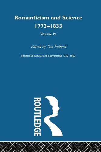 9780415219563: Romanticism & Science V4