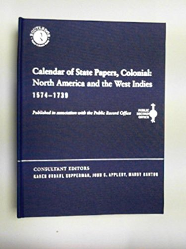 9780415219600: Calendar State Papers Col Cd